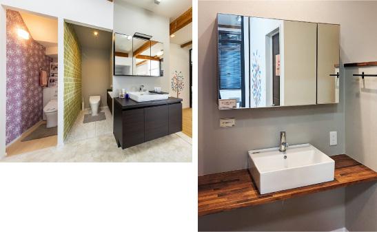 洗面とトイレ イメージ