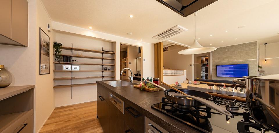 眺めのいいキッチン イメージ
