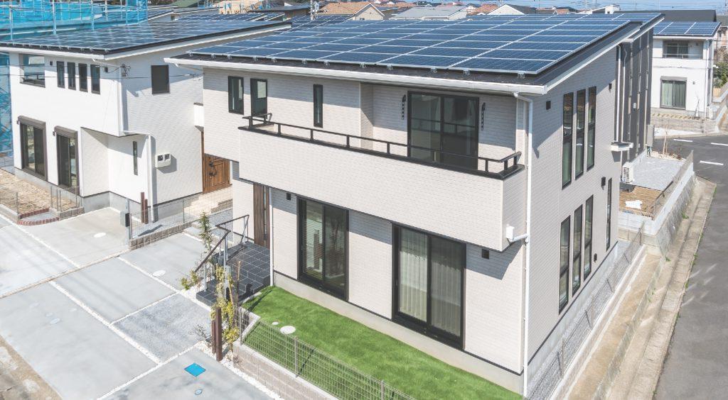 分譲住宅でお得に暮らすなら太陽光発電システム搭載のヘリオスタウン