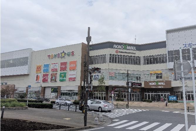 アクロスモール新鎌ヶ谷
