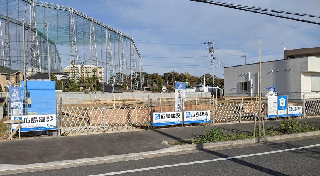 ヘリオスタウンおおたかの森38 現地写真(2019年11月18日現在)