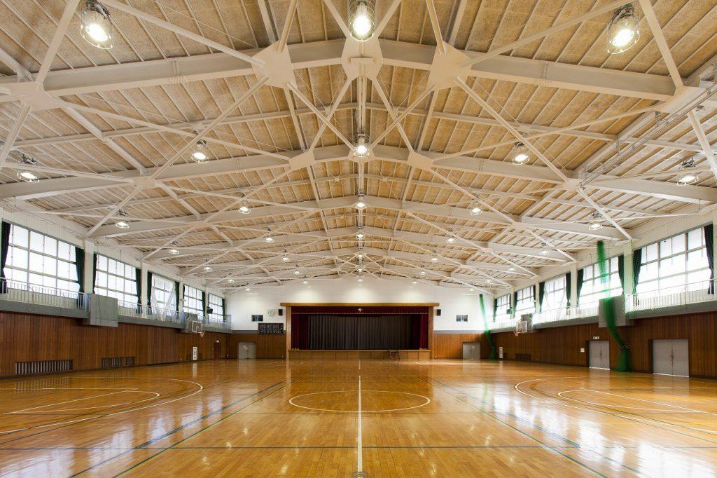 千葉県立沼南高等学校屋内体育館(大規模改造建築工事)