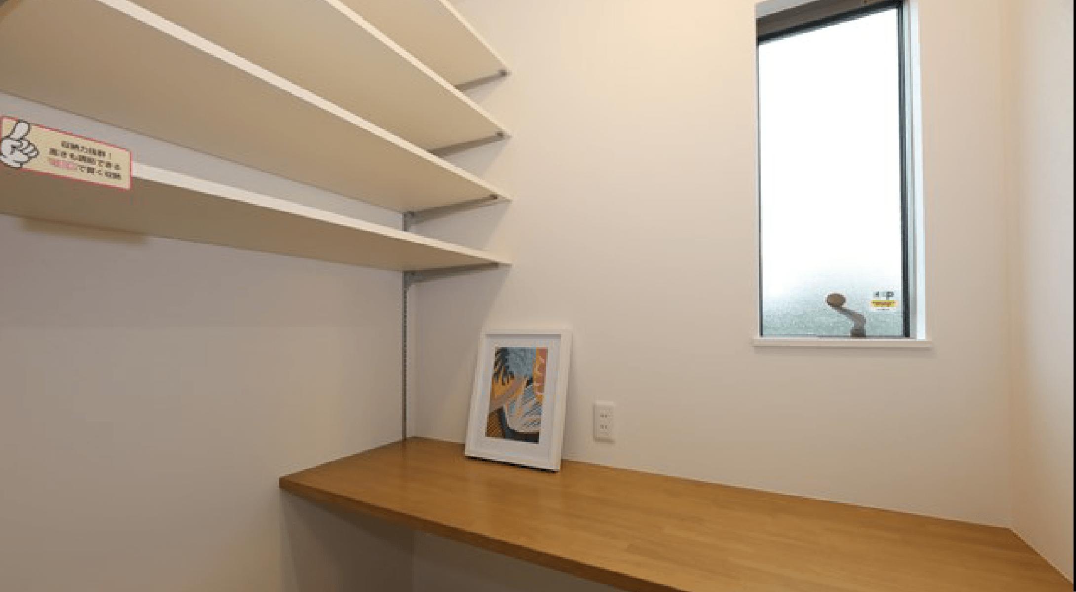【当社施工例・家事室】間取りや仕様など実際と異なる場合がございます。