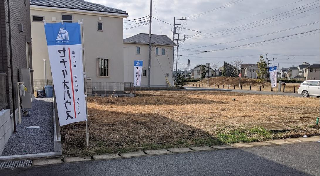 【セナリオステージおおたかの森53】現地分譲地写真