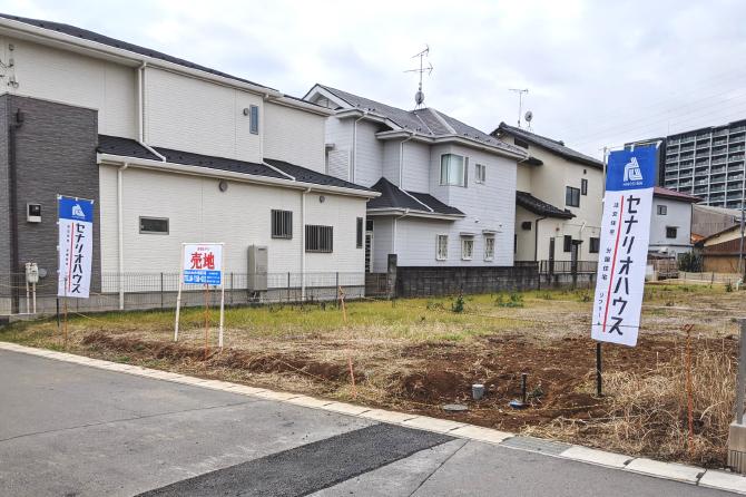 【セナリオステージおおたかの森68】現地分譲地写真