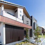 【写真は千葉北展示場】和モダンとシンプルモダンをご覧いただける住宅展示場です。