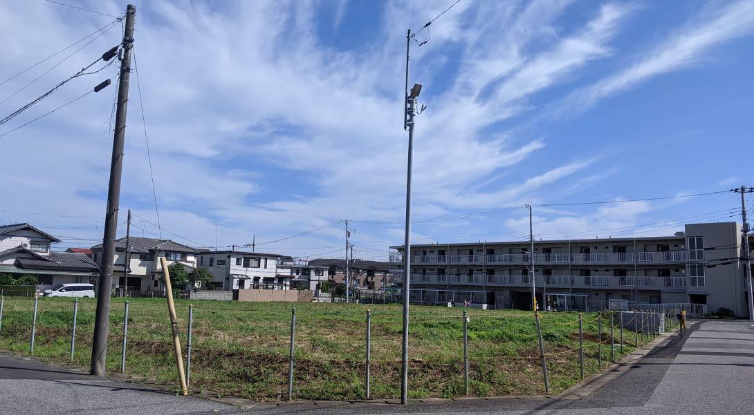 セナリオステージ新検見川Ⅴ(現地写真10月撮影)