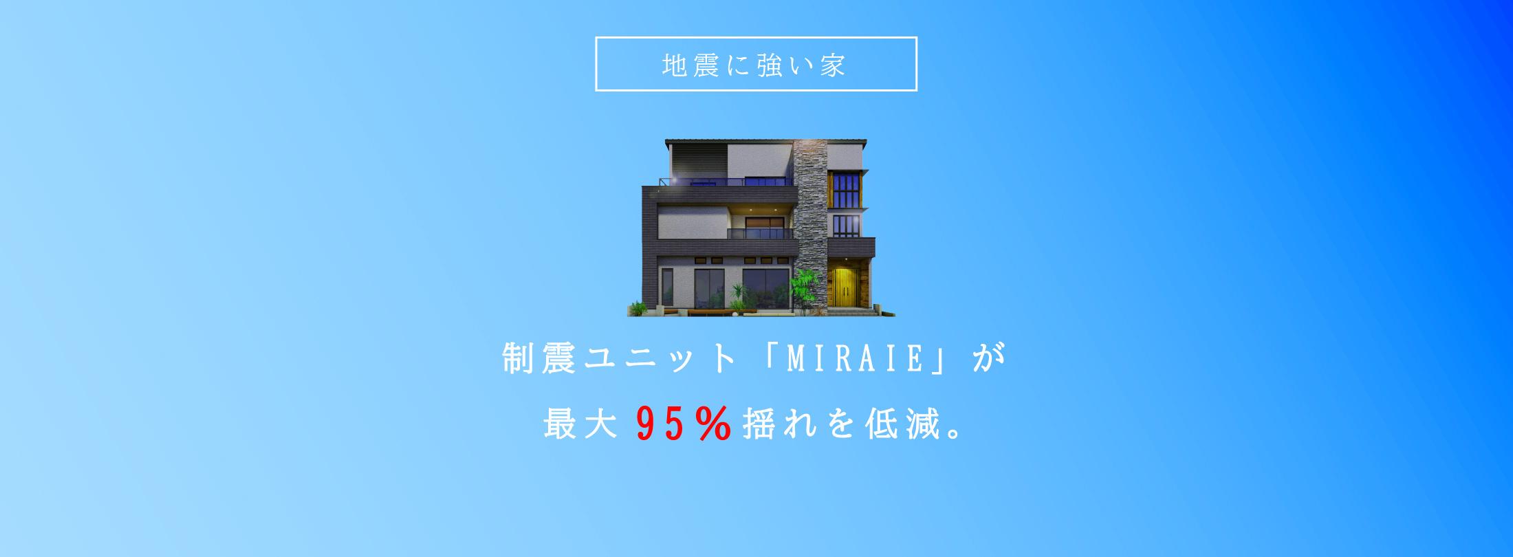 制震ユニットMIRAIE ゴムの技術で家と人と未来を守る