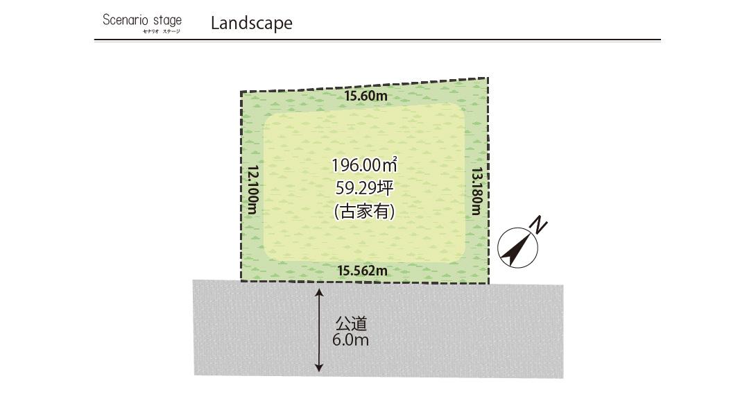 セナリオステージ北国分台【区画図】