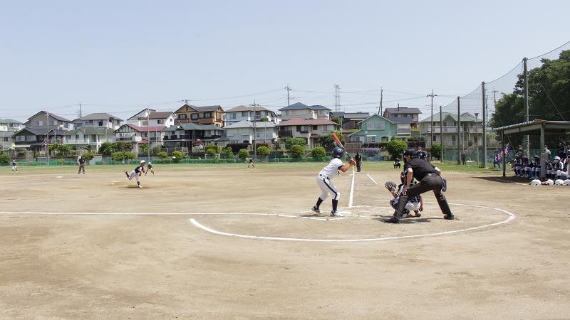 セナリオハウス旗争奪 柏市少年野球春季大会低学年の部 開催