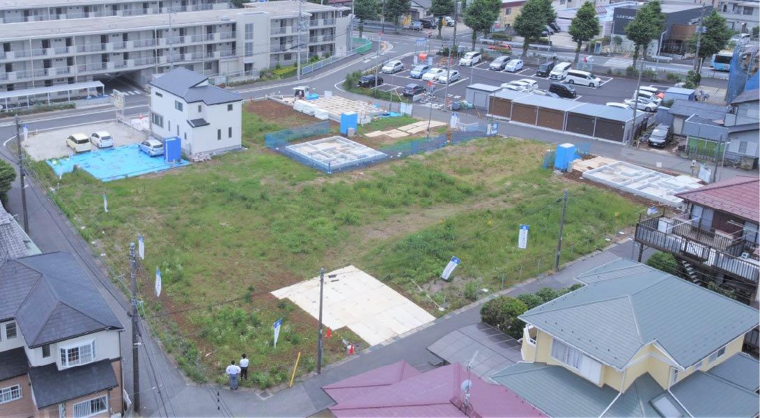 【2期】セナリオステージ新検見川Ⅴ(現地写真6月撮影)