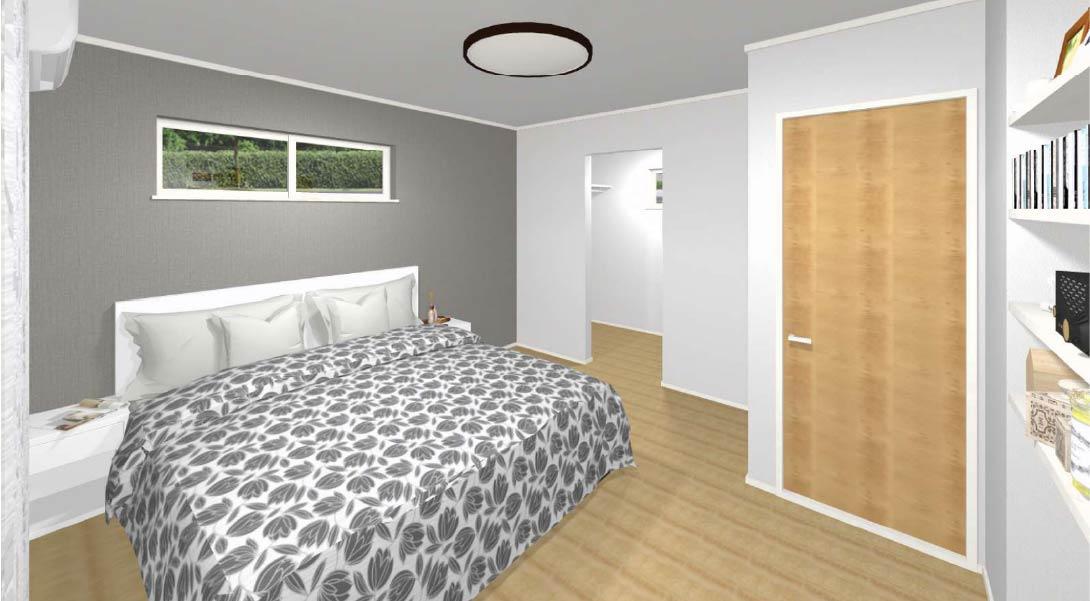 9号棟:寝室イメージ