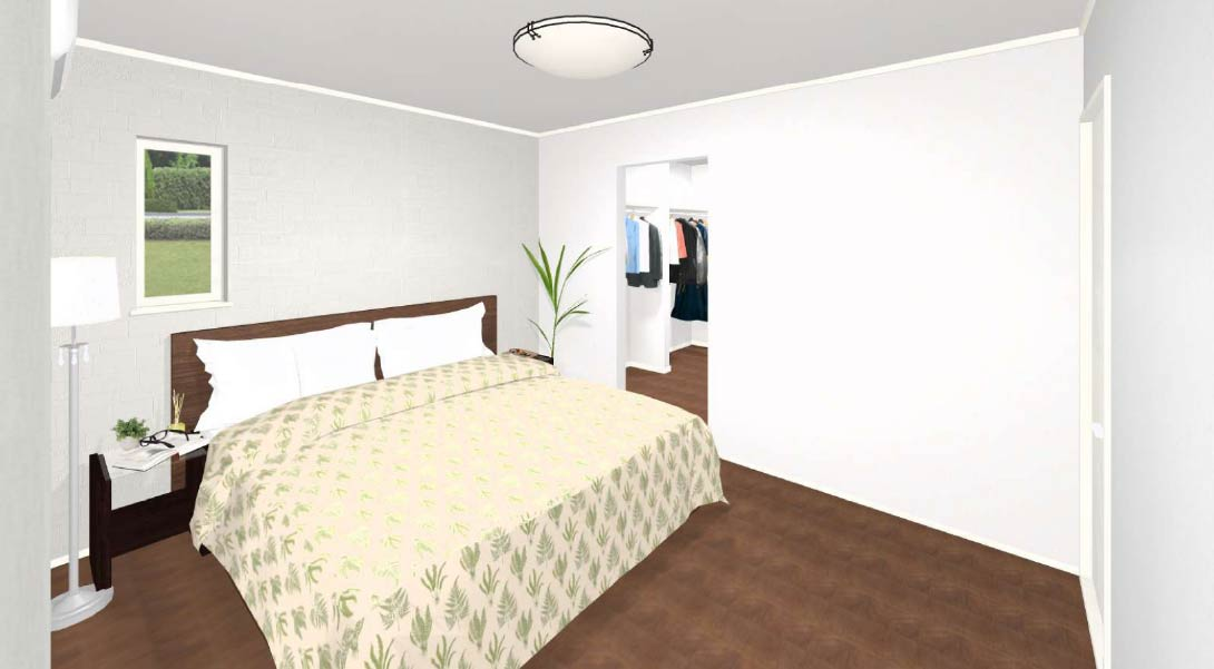 7号棟:寝室イメージ