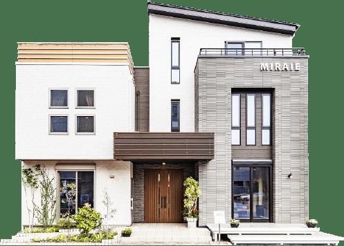 多くの暮らし方が見られる現代型のモデルハウス