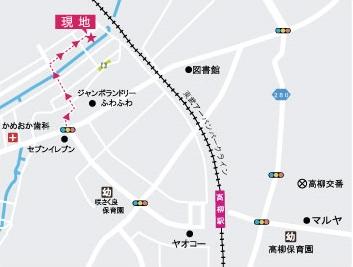高柳地図 - 大谷 将弘 (m.otani)