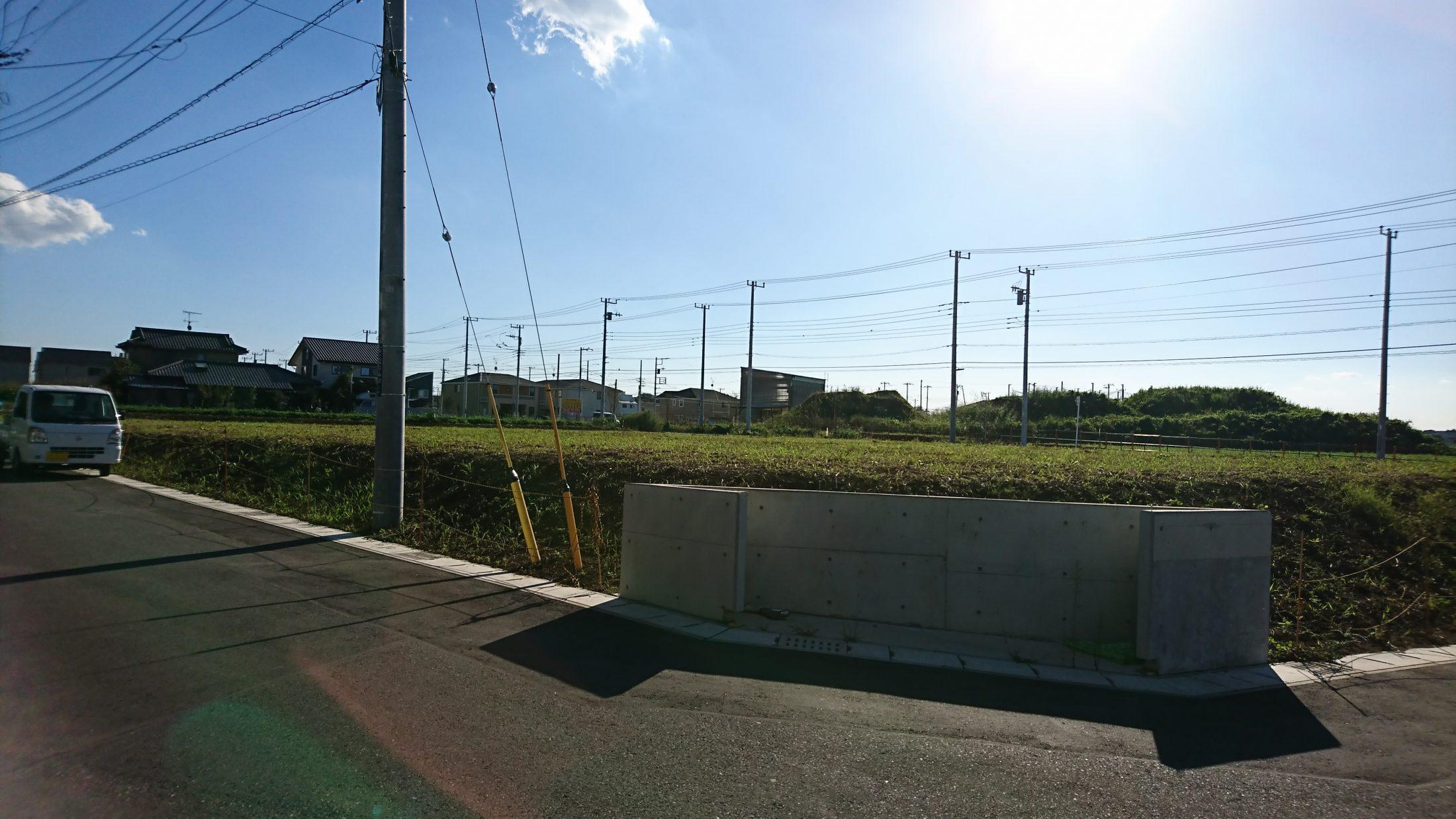 区画図/現地写真(平成30年10月撮影)