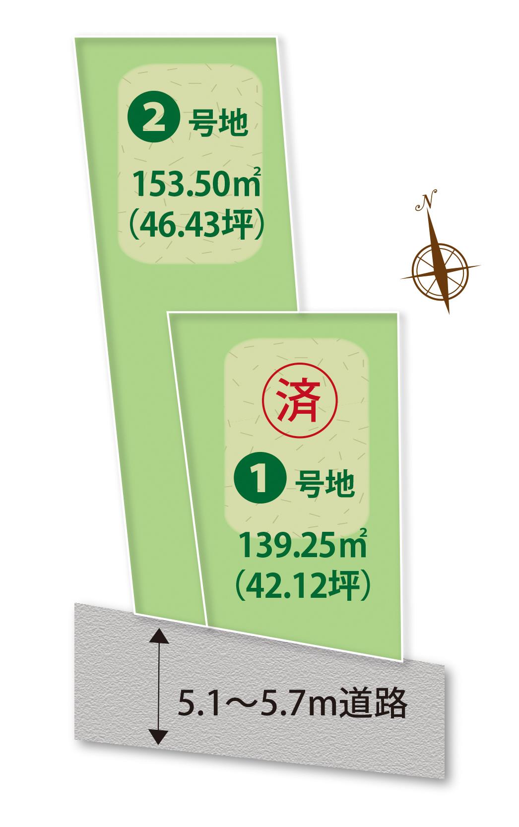 区画図・アクセスマップ